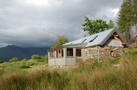 The Bothy - no frills self-catering accomodation for up to 4 people