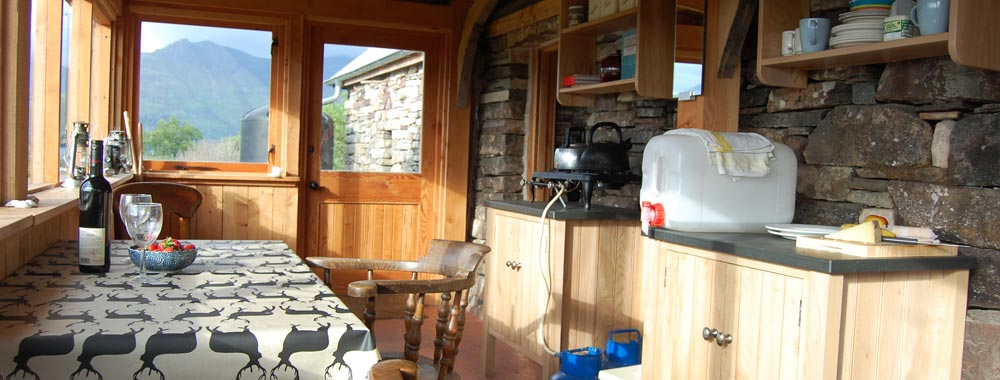Ben Damph - self catering highland accommodation for up to 4 people