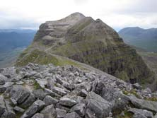The rugged landscape presents many climbing oppotunities on the Ben Damph estate