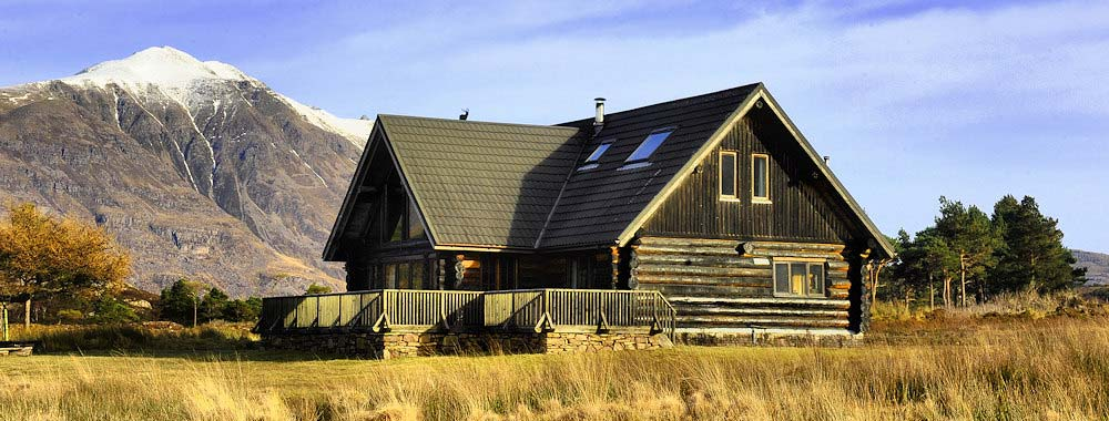 The Log House - self catering highland accommodation