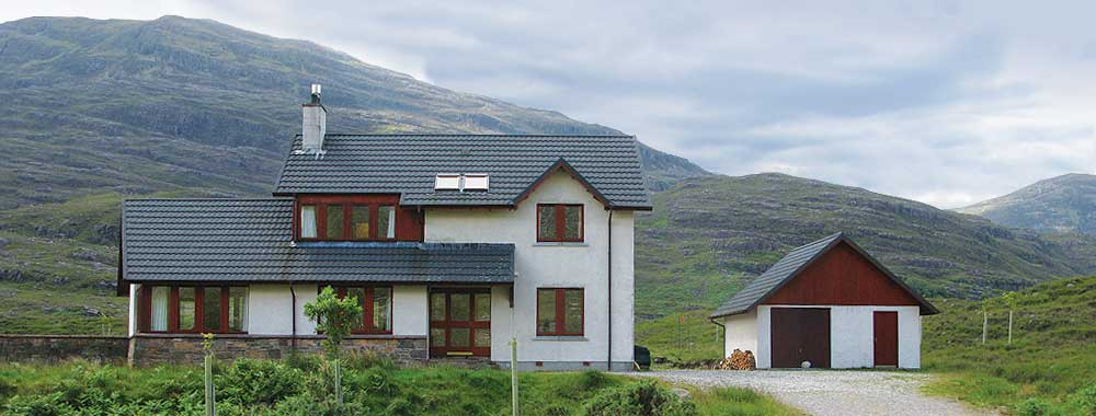 The Thrail House - self catering highland accommodation for up to 8 people